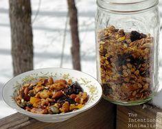 Twice Baked Granola | The Intentional Minimalist