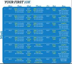 First 10K Plan