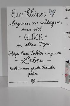 Glückwunschkarte zur Geburt III – – Creativ Quartier – You are in the right place about diy birthday karte Here we offer you the most beautiful pictures about the diy birthday outfit you are looking f