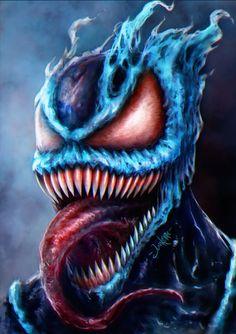Venom 2099 by junkome on DeviantArt Venom Spiderman, Marvel Venom, Marvel Villains, Spiderman Art, Marvel Heroes, Venom 2099, Venom Art, Venom Comics, Marvel Comics Art