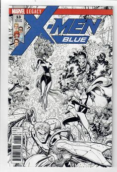 X-MEN BLUE #13 - NM - 1 in 40 ART ADAMS Black & White variant!  http://www.ebay.com/itm/X-MEN-BLUE-13-NM-1-40-ART-ADAMS-Black-White-variant-/292288486193?roken=cUgayN&soutkn=6zetcH