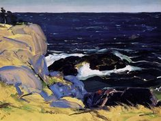 George Bellows, West Wind, 1913