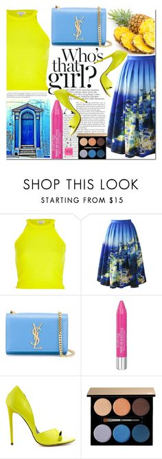 """""""Fashion changes, but STYLE endures"""" by xwafflecakezx ❤ liked on Polyvore featuring River Island, Chicwish, Yves Saint Laurent, Isadora, Liliana, Lancôme and Topshop"""