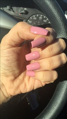 New nails color or rock and rose