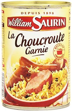 William Saurin La Choucroute Garnie 400 g