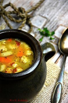 Polish Recipes, Polish Food, Cheeseburger Chowder, Food And Drink, Sweets, Ethnic Recipes, Foods, Cook, Recipes