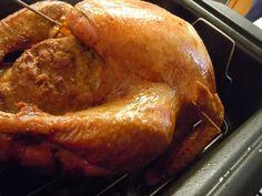 My Thanksgiving roasted bird with cornbread stuffing