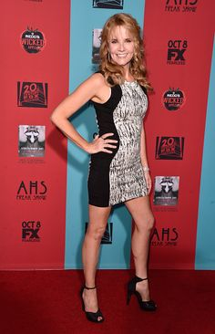 Lea Thompson attends FX's 'American Horror Story: Freak Show' premiere screening at TCL Chinese Theatre on October 5, 2014 in Hollywood, California.