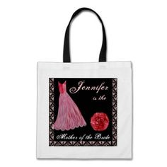 #REDDress  #Cotton #Tote #Bag http://www.zazzle.com/red_dress_mother_of_the_bride_cotton_tote_bag-149850752174658855