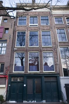 Anne Franks House in Amsterdam. It was a memorable tour. The crowd which was back to back was quiet as we walked through the space. Hard to believe it wasn't that long ago. A sorrowful but important thing to remember.