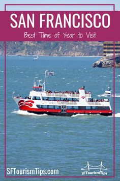 When is the best time to visit San Francisco? My guide offers a few of the best times to visit and what to expect during your stay. #sanfranciscovisit  #whattoseeinsanfrancisco #sanfranciscoattractions San Francisco Attractions, San Francisco Vacation, San Francisco Neighborhoods, Northern California Travel, Whats Open, Fleet Week, Napa Valley Wine, Outdoor Fun, Wonderful Places