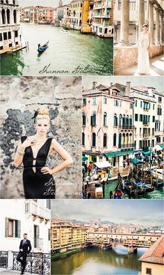 Venice and Rome Bridal Shoot
