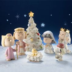 PEANUTS™ The Christmas Pageant Figurine by Lenox