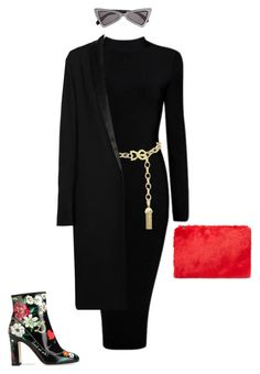 """""""Untitled #113"""" by blacq on Polyvore featuring Yves Saint Laurent, Dolce&Gabbana, Haider Ackermann and Forever 21"""