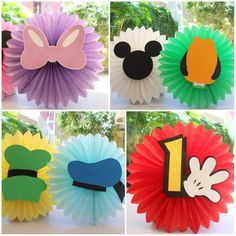 Mickey E Minnie Mouse, Fiesta Mickey Mouse, Mickey Mouse Clubhouse Birthday Party, Mickey 1st Birthdays, Mickey First Birthday, Festa Mickey Baby, Mickey Party, Daisy Duck Party, Mickey And Friends