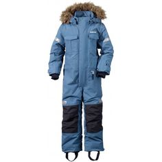 Köp Didriksons Migisi Overall, Coldsmoke Blue Ski Wear Brands, Kids Ski Wear, Kids Skis, Snow Fashion, Snow Suit, Outdoor Outfit, Canada Goose Jackets, Skiing, Kids Outfits