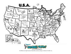 Learn the 50 States! by Scribble Town!, via Flickr