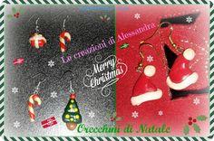 TuttoPerTutti: ORECCHINI DI NATALE - Speciale Natale. Ecco un regalo originale per un Natale speciale!