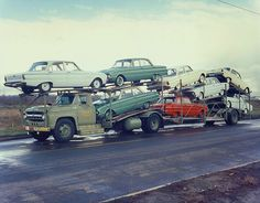 CONVOY w/Falcons by PAcarhauler, via Flickr