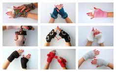 SALE Gray Glovesknit gloves mittensholiday giftsGift for by seno, $25.00