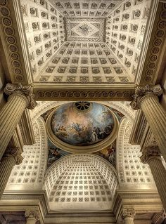 Chapelle du Lycée Hoche. Versailles, France