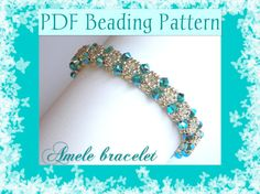 DIY Photo Tutorial Amelìe bracelet / PDF tutorial by MeiBijoux