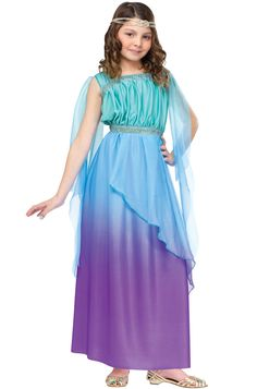 Check out the deal on Ombre Goddess Child Costume - FREE SHIPPING at…