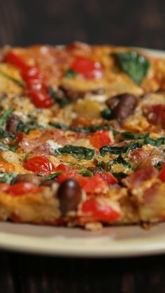 Morning After Breakfast Frittata - How to make the perfect hangover breakfast The Effective Pictures We Offer You About rice recipes - Breakfast Frittata, Breakfast Dishes, Tasty Breakfast Recipes, Eat Breakfast, Gourmet Recipes, Dinner Recipes, Cooking Recipes, Snacks Recipes, Pizza Recipes