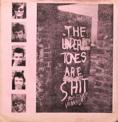 Part of the fold-out sleeve for The Undertones' Teenage Kicks EP, released on the Good Vibrations label in 1978.