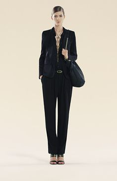 Black Gucci Spring Summer 2013 #fashion