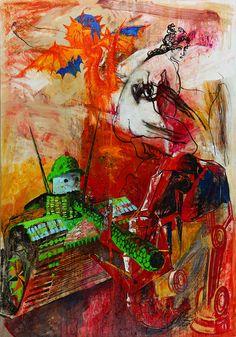 Susanna Earth November, 2015 Anastasia Russa Canvas/oil 220x140 cm