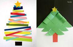 13 Manualidades de Árbol de Navidad