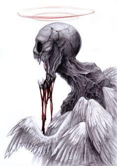40 Creepy Zombie Drawings, Illustrations & Concept Art Inspiration – Art Drawing Tips Arte Horror, Horror Art, Fantasy Kunst, Fantasy Art, Art Sinistre, Zombie Drawings, Art Noir, Drawn Art, Creepy Art