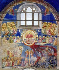 Giotto (1267 - 1337) - Il Giudizio Universale - Cappella degli Scrovegni, Padova