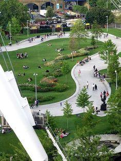 Jubilee Gardens By West 8 Landscape Architecture Works