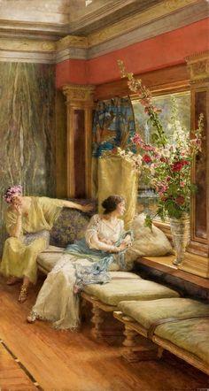 Vain Courtship - Sir Lawrence Alma-Tadema