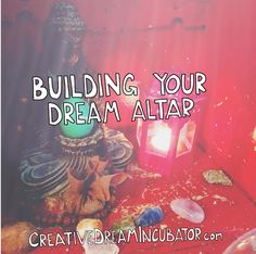 Free class happening Jan 3! Building your dream altar to focus and direct your intention for 2017. Click through to register.