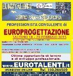 Annunci a tutta italia, offro - a #salerno..CONSULENTE PROGETTAZIONE EUROPEA