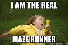 Image result for maze runner memes