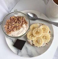 Breakfast Toast Ideas Mornings Healthy Ideas For 2019 - Healthy Breakfast Recipes Healthy Dessert Recipes, Health Desserts, Healthy Snacks, Breakfast Recipes, Breakfast Ideas, Breakfast Healthy, Health Breakfast, Healthy Food Tumblr, Healthy Eating