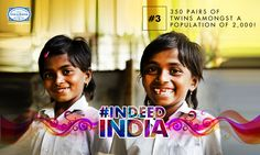 The remote tropical village of Kodinhi, in #Kerala, has got scientists scratching their heads in amazement. With the highest rate of twins, India has once again baffled the world! Uncover the mysteries of India's Twin Town. #IndeedIndia #Travel