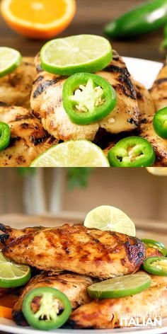 Best Ever Grilled Margarita Chicken has the fantastic flavor of tequila cooked into the chicken with subtle hints of sweetnes and a little kick from t. Grilling Recipes, Cooking Recipes, Healthy Recipes, Vegetarian Grilling, Best Grill Recipes, Grilled Chicken Recipes, Salmon Recipes, Mexican Grilled Chicken, Margarita Chicken