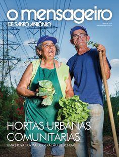 Capa Revista O Mensageiro de Santo Antônio Abril de 2014