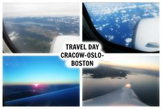 lifestyle: Travel day from Crakow thru Oslo to Boston by Norw...