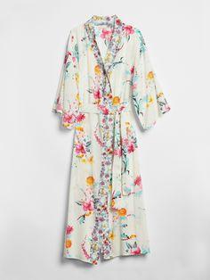 Dreamwell Floral Print Robe | Gap