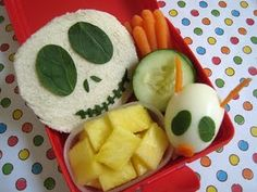 On Disney again!  Jack Skellington Nightmare Before Christmas bento