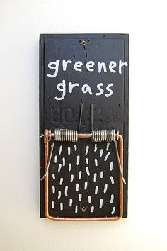 Grass is greener by Marc Johns