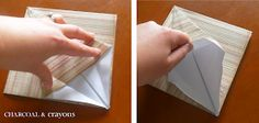 Charcoal and Crayons: Folding a Paper Lily Crafty Projects, Projects To Try, Origami Lily, Napkin Folding, Table Covers, Easter Crafts, Party Themes, Party Ideas, Diy And Crafts