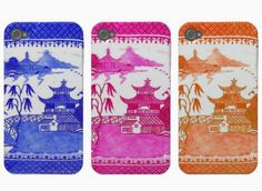 Pink Pagoda's Iphone covers - love Chinoiserie!