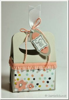 """How gorgeous is this wee poppet, Stampin' Up! """"Sweet Sorbet"""" DSP from the Sale-A-Bration promotion ..."""